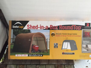 Shed-in-a-box -Used 10x10x8ft
