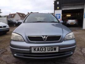 Vauxhall/Opel Astra 1.6i auto 2003 Club 82000 MILES S/HIST 8 STAMP LOTS OF BILLS