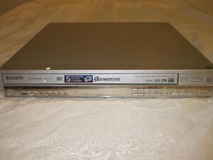 PANASONIC - DVD-F87 5-disc carousel DVD/CD/DVD-Audio changer