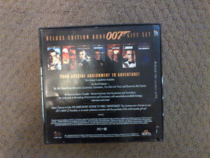 Collectible James Bond 007 Deluxe Edition  VHS Gift set London Ontario image 2