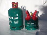 Calor Gas Bottle 13kg Patio & 5kg Patio - Full Bottles