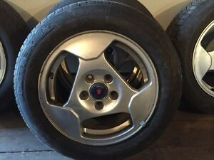 SAAB SCANIA RIMS AND TIRES