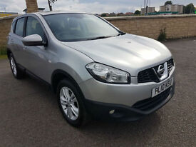 2010 NISSAN QASHQAI 1.5 dCi, 1 FORMER KEEPER, FULL SERVICE HISTORY