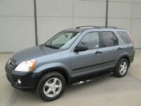 2006 HONDA CRV ALL WHEEL DRIVE, VERY CLEAN IN & OUT!
