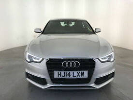 2014 AUDI A5 S LINE TDI DIESEL 5 DOOR HATCHBACK 1 OWNER SERVICE HISTORY FINANCE