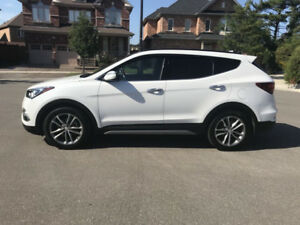 2017 Santa Fe Ultimate Top Of The Line 5 Seater 2.0 TURBO LOWKM!