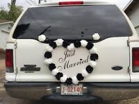 $85 limo-limousine any where in the city (wedding 110/h)