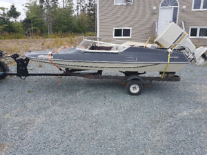 16ft Speedboat with trailer