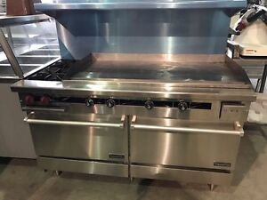 GAS RANGE! COOLERS! FREEZERS! ICE MACHINES & MORE!