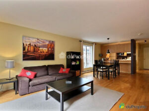 3 bedrooms 2 bathrooms duplex in the Plateau