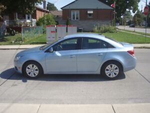 2012 Chevrolet Cruze LT; 159,500 km; Excellent Condition