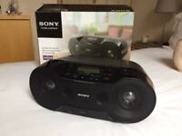 Sony ZSRS 70BTB Bluetooth Boombox with Cd