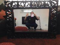 Large Black Mirror
