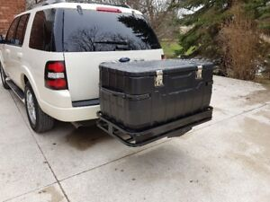 roof rack not needed, luggage carrier