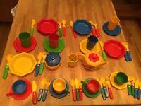 Kids tea and dinner set