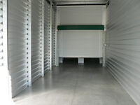 Heated mini warehouse unit for small business!