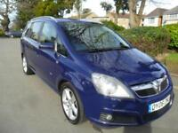 VAUXHAL ZAFIRA 1.9CTDI 2006 COMPLETE WITH M.O.T HPI CLEAR INC WARRANTY