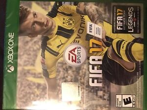 FiFA 17 Xbox One game for sale.