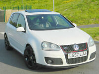2007 57 VOLKSWAGEN GOLF 2.0T FSI ( 200PS ) DSG GTi** HIGH SPEC ** Fully Loaded!