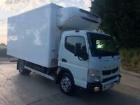 2015 65 Mitsubishi Canter 7C15 Euro 6 Fridge box, Thermo King T800 freezer unit