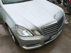 Mercedes E-CLASS, W212, 2010-2013 BREAKING FOR PARTS