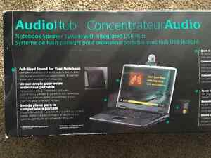 Logitech 2.1 Audio Hub Notebook PC Speakers - Like New London Ontario image 5