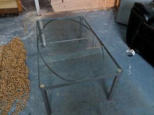 table basse de salon en vitre ikea à vendre