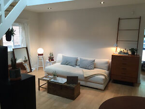 Furnished Skylit Cottage Queen West - Up to 1 year