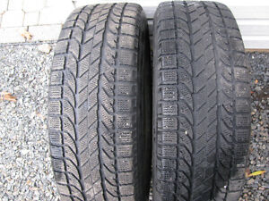 Two Winter Tires P225 65R17
