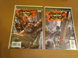 Ghost Rider #12 and 13 Dell'Otto Covers