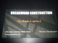 Breakwood contrsruction