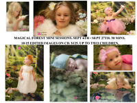Children's Magical Forest Mini Sessions