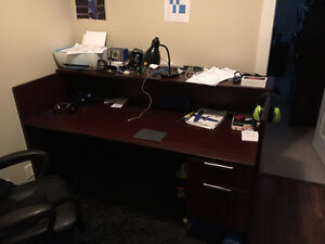 Large Office Desk For Sale 150 OBO Need Gone By Wednesday