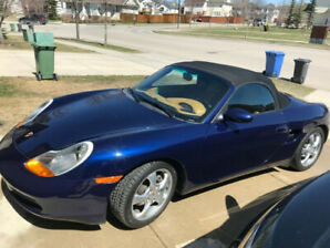 Boxster - 80K ,Original Owner, Auto, certified,  looks new!