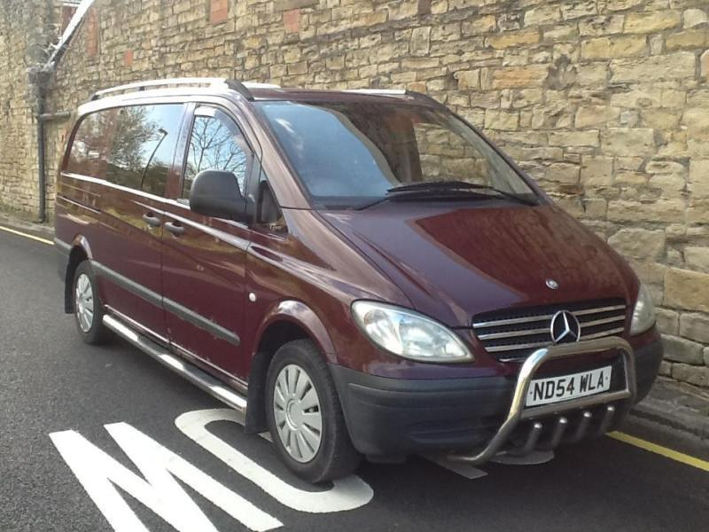 2004 Mercedes vito 21 cdi 158k 8 months mot make good camper or