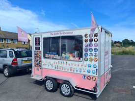 ICE CREAM BUSINESS FOR SALE INCLUDING 4X4, AND STOCK.