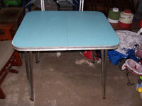 Vintage Chrome Table 36 by 30