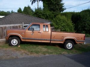 1981 Ford F250 HD Camper Special