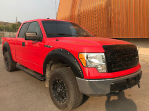 2012 F150 Super Cab 4x4 80 k Lifted  Saftied  CLEAN TITLE 4.25%