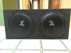JL Audio 12W0 Subwoofers, Sealed Box and Coustic Class D Amp