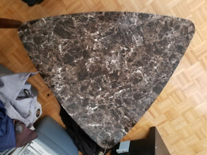 Unique stone table
