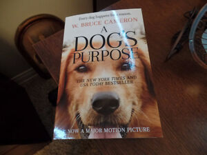 ~ GREAT BOOK ~ A DOG'S PURPOSE (AS NEW) ~ $5.00 ~