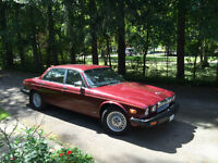 1987 XJ6 Sovereign - Red