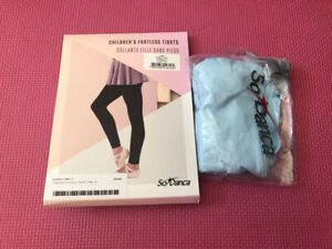 Halifax dance kid tights, leotard, shoes for sale