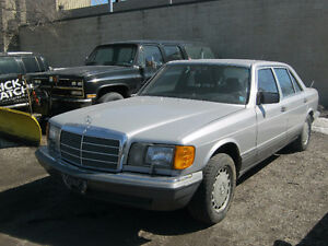 1988 MERCEDES BENZ 420 SEL $2600 AS IS