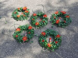 Vintage Candle Christmas Wreaths