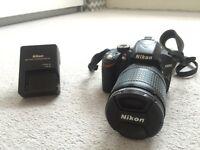 NIKON D3200 with 18-135 Nikon Lens perfect condition