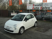2013 FIAT 500 POP 1.2L ONLY 34,037 MILES, 1 OWNER FROM NEW, FULL SERVICE HISTORY