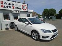 2016 SEAT LEON 2.0 TDI FR TECHNOLOGY - 47,008 MILES-FULL *SEAT* SERVICE HISTORY