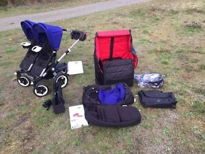 Excellent condition bugaboo donkey duo